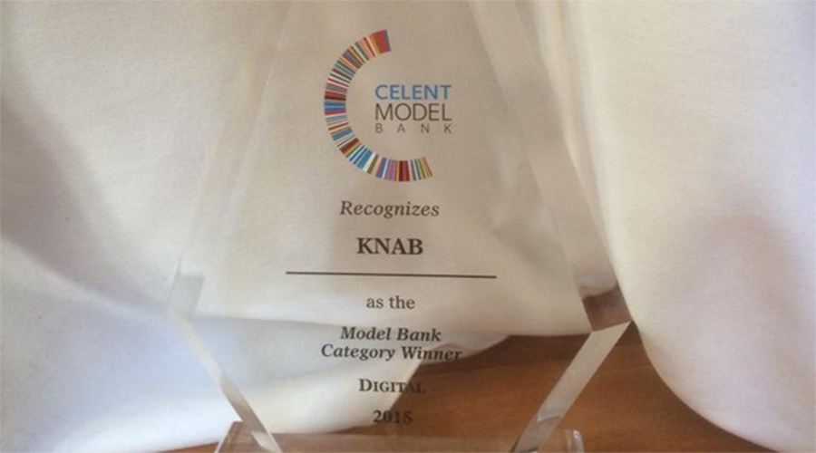 Knab wint in New York Celent Digital Bank Award