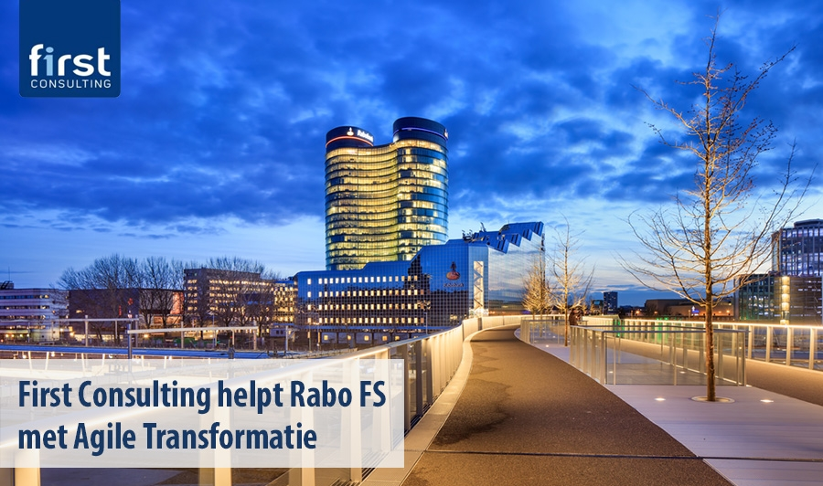 First Consulting helpt Rabo FS met Agile Transformatie