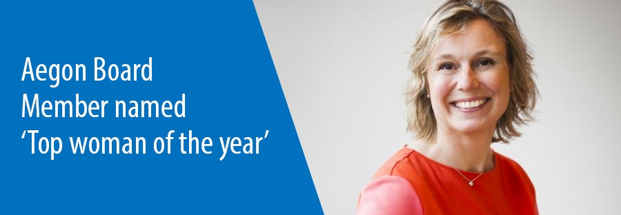 Aegon Board Member named Top woman of the year