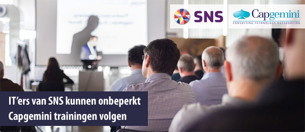 IT van SNS volgen Capgemini trainingen