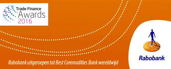 Rabobank - Trade Finance Awards 2016