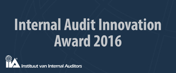 Internal Audit Innovation Award 2016