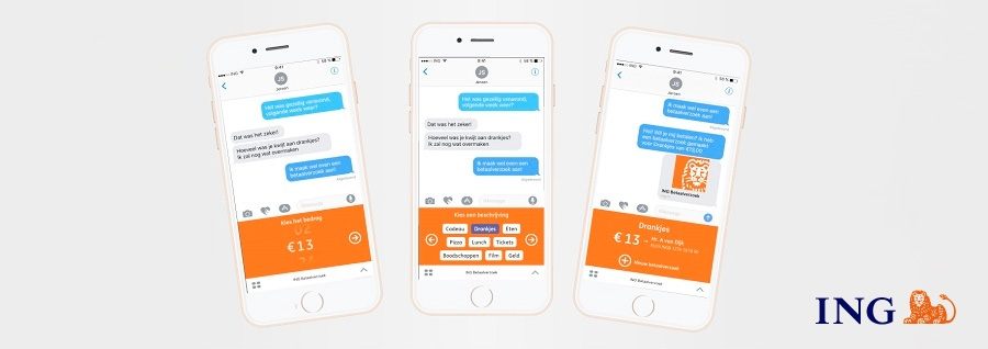 ING introduceert betaalverzoeken via Apple iMessage