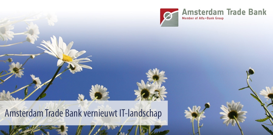 Amsterdam Trade Bank vernieuwt IT-landschap