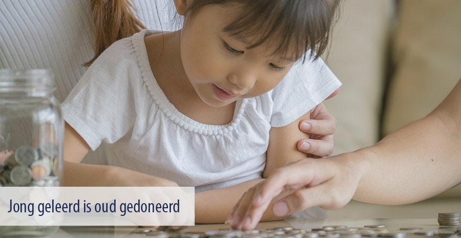 Jong geleerd is oud gedoneerd