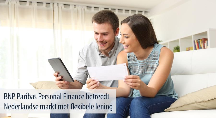 bnp paribas personal finance betreedt nederlandse markt met flexibele lening. Black Bedroom Furniture Sets. Home Design Ideas