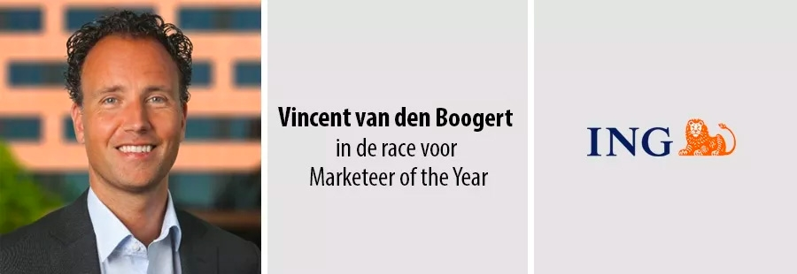 Vincent van den Boogert van ING in de race voor Marketeer of the Year