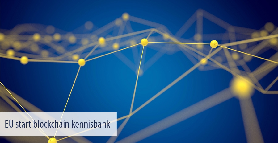 EU start blockchain kennisbank
