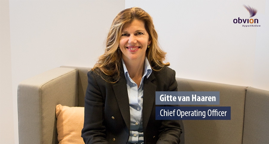 Gitte van Haaren, Chief Operating Officer - obvion