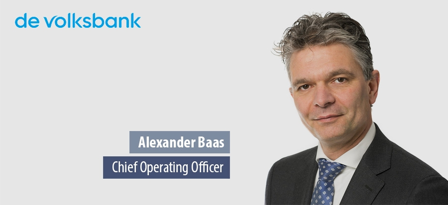 Alexander Baas, Chief Operating Officer - de volksbank
