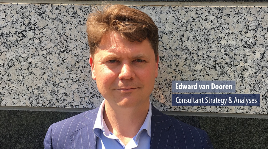 Edward van Dooren, Consultant Strategy & Analyses
