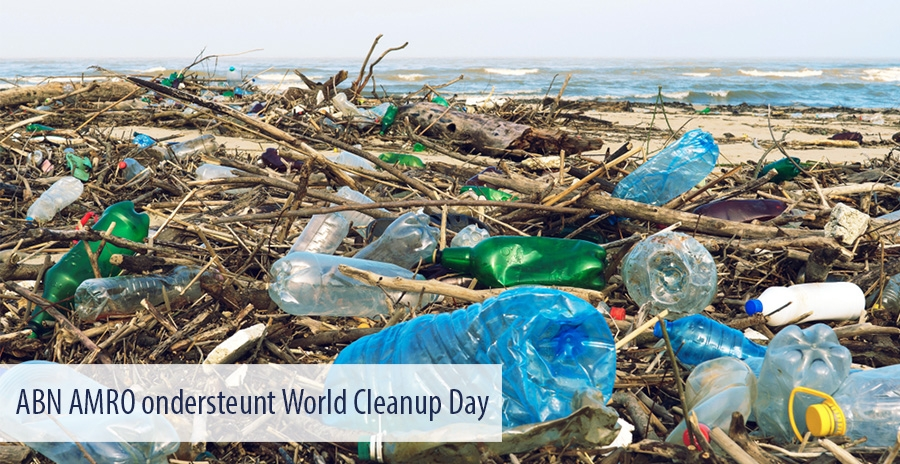 ABN AMRO ondersteunt World Cleanup Day