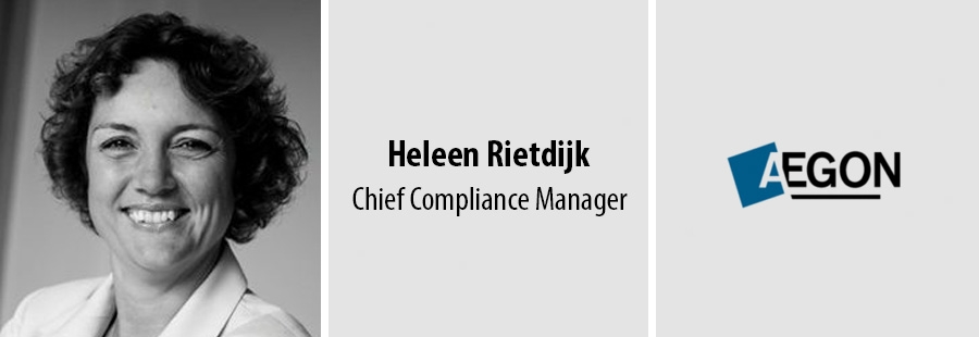 Heleen Rietdijk, Chief Compliance Manager - AEGON