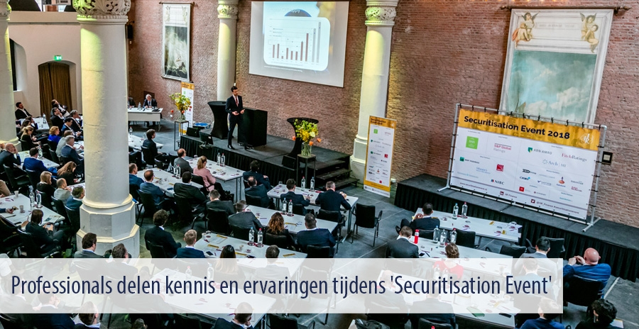 Professionals delen kennis en ervaringen tijdens 'Securitisation Event'