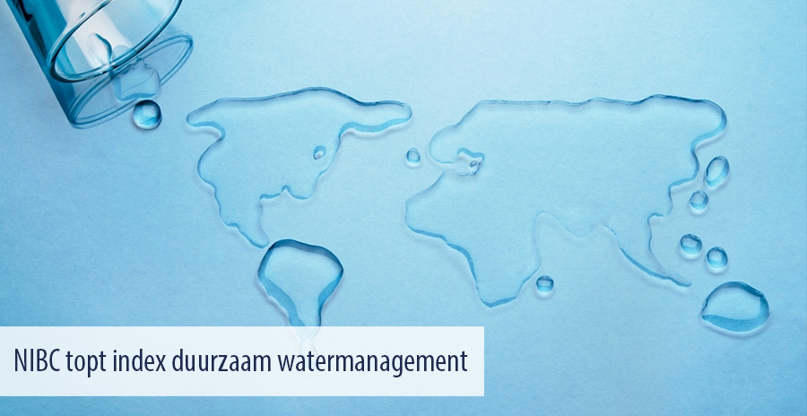 NIBC topt index duurzaam watermanagement