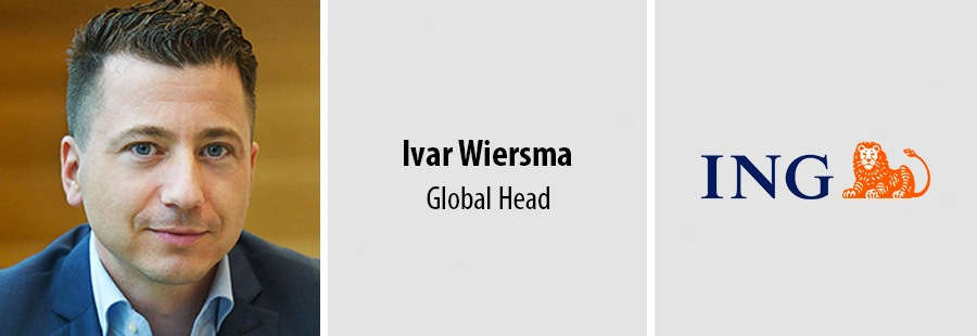Ivar Wiersma, Global Head ING Labs Wholesale Banking