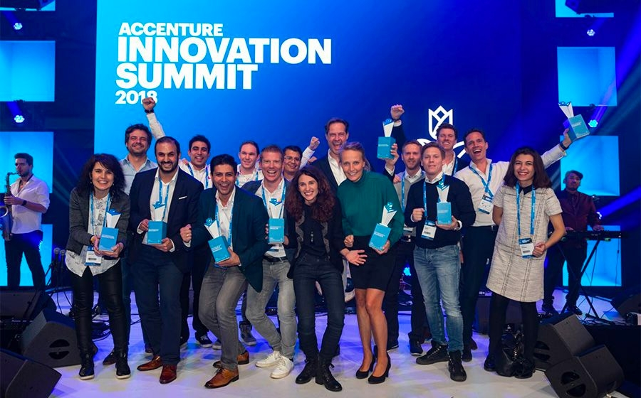 Startup in klantidentificatie winnaar Accenture Innovation Awards