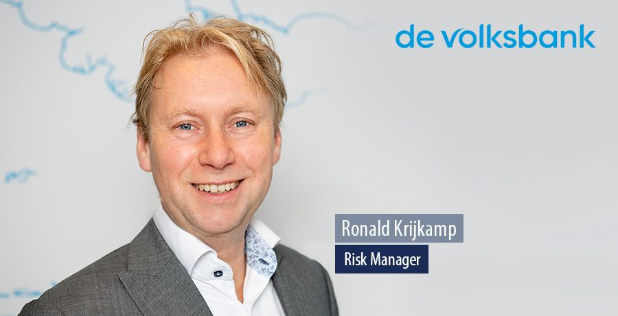 Ronald Krijkamp, Risk Manager bij de Volksbank