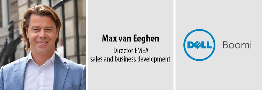 Max van Eeghen, director EMEA sales and business development bij Dell Boomi
