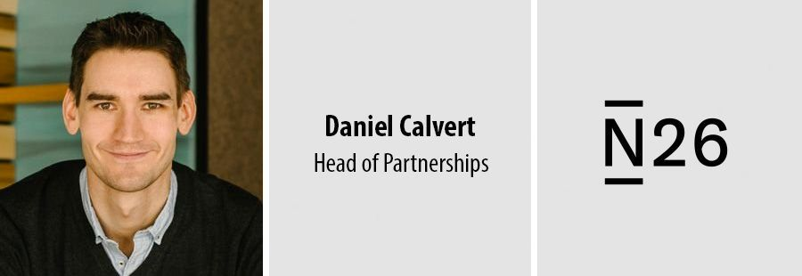 Daniel Calvert, Head of Partnerships - N26