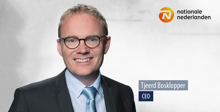 Tjeerd Bosklopper, CEO van Nationale Nederlanden