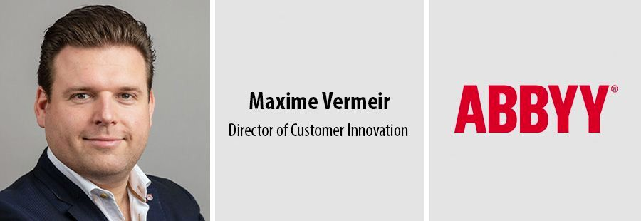 Maxime Vermeir, Director of Customer Innovation, Abbyy