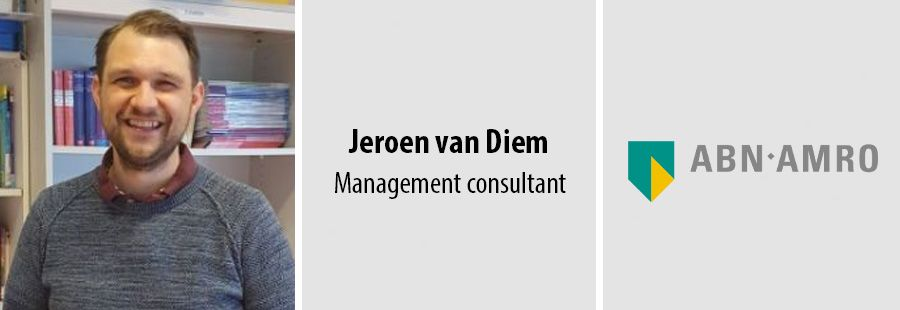 Jeroen van Diem (ABN AMRO): Van bank naar de klas