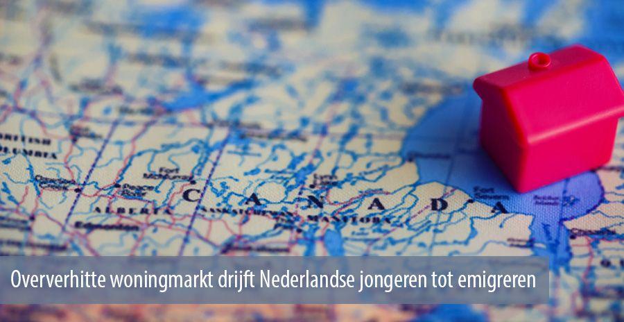 Oververhitte woningmarkt drijft Nederlandse jongeren tot emigreren