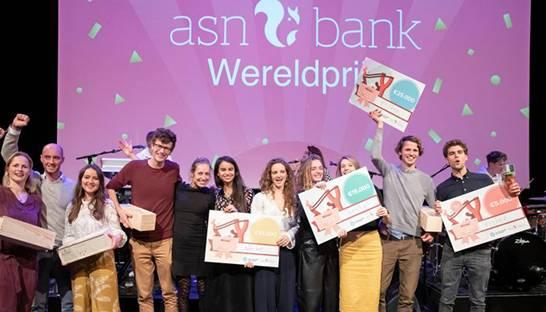 Winnaars ASN Bank Wereldprijs 2019 zijn bekend - Banken.nl