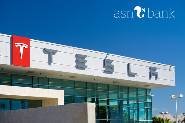 ASN Duurzaam Aandelenfonds belegt in Tesla Motors