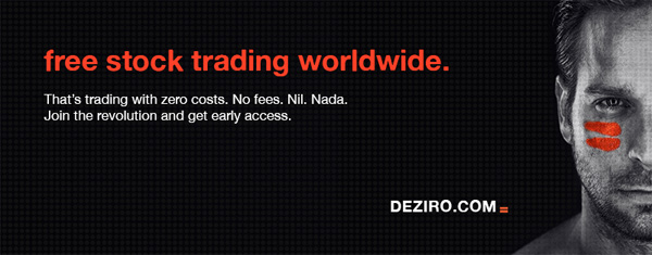 DEZIRO - Free stock trading worldwide