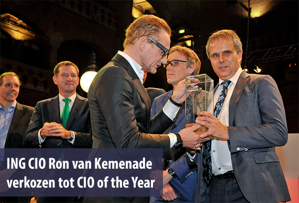 ING CIO Ron van Kemenade verkozen tot CIO of the Year