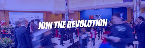 Metro Bank - Join the revolution