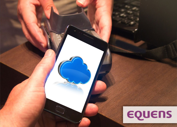 Mobile phone paying through the cloud