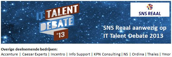 SNS Reaal - IT Talent Debate 2013