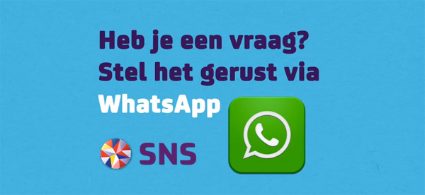 SNS Care via Whatsapp