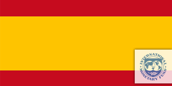 Spanish flag - International Monetary Fund