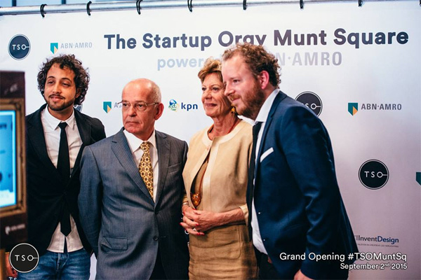 Startup co-working space TSO Munt Square geopend