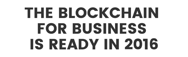 The Blockchain for business
